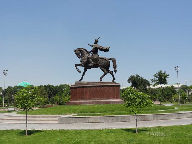 Amir Temur Square Samarkanda Travel And Tours