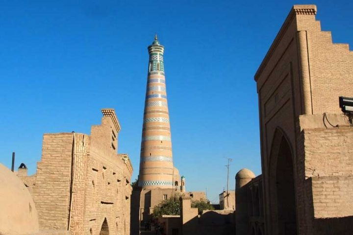 Islam-Khoja-Madrasa-and-Minaret